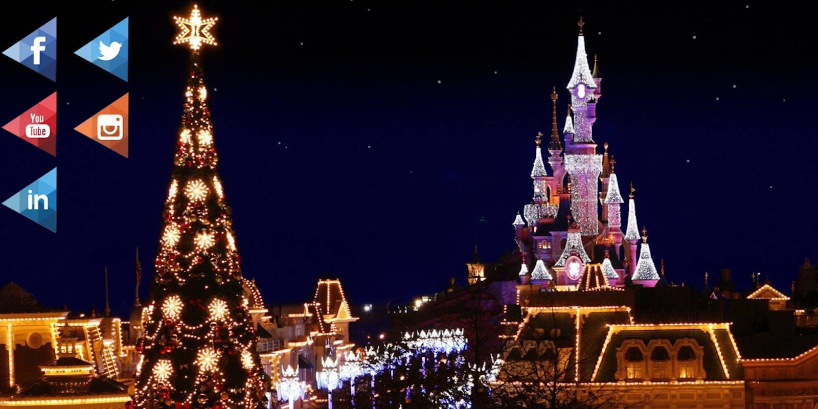 Disneyland Paris, une entreprise connectée !